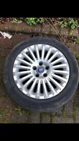 Ford Focus Mondeo Alloy Wheels and Tyres