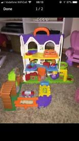 TOOT TOOT AND FRIENDS PLAY HOUSE