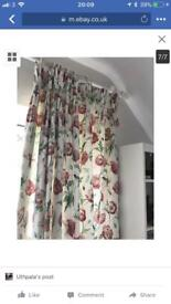 Excellent Condition Laura Ashley Curtains