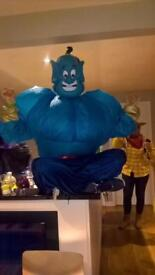 Genie (Aladdin) fancy dress costume