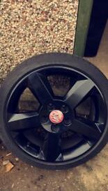 5x110 Vauxhall VXR Corsa/Astra/Vectra Alloys with Michelin PS3 Tyres
