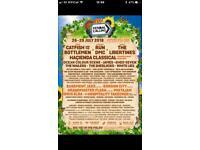 Kendal Calling 2018 x2 Full Weekend Camping Tickets Thu - Sun + parking + Posh Toilets