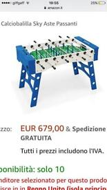 Brand new full size football table would make great present