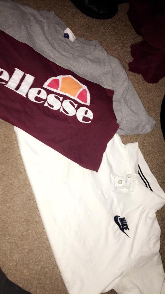 Ellesse and Nike top