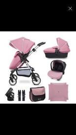 Silver cross wayfarer pink bundle