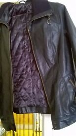 for sale selection of ladies coat. leather and wool .