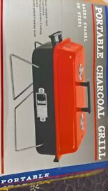 Portable Charcoal Barbeque