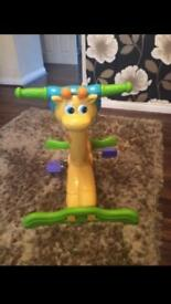 VTECH GIRAFFE BOUNCE AND RIDE