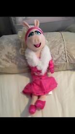 Disney store pink miss Piggy muppets