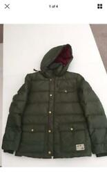 JACK WILLS FEATHER DOWN WINTER COAT SIZE SMALL ADULT