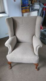 Parker-Knoll style armchair. Comfortable. Good condition