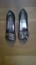 New - River Island high heel leather shoes