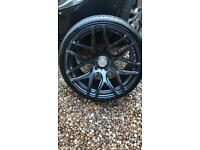 BMW alloys 19 ispiri wheels