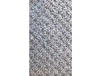 New light grey carpet 13 ft x 4 ft 9 ins