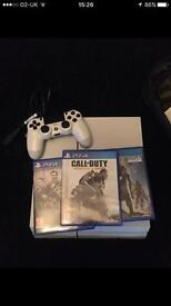 Re-posted - PS4 white edition for sale