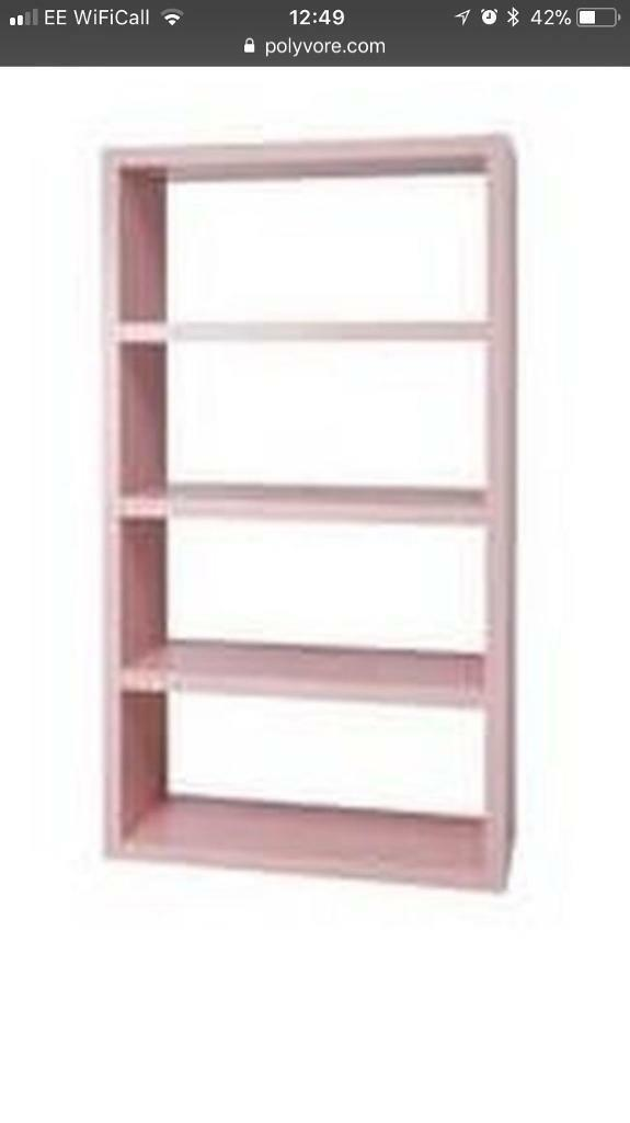 Lack Ikea Pink Shelves 2 Available