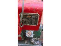 suffolk super colt vintage petrol lawnmower