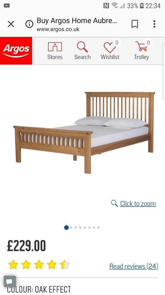 King size bed frame for sale.   in Coventry, West Midlands   Gumtree