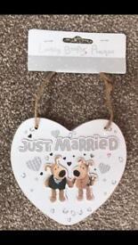 Boofle wedding heart
