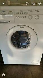 Whirpool washing machine and dryer