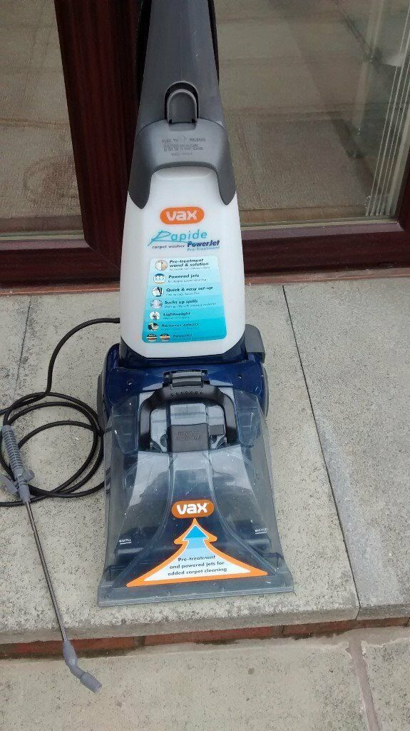 Vax Vrs18w Powermax Carpet Washer 500 Watts Carpet
