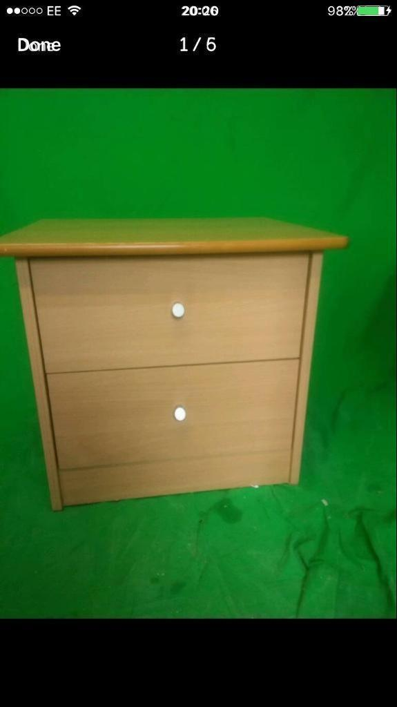 Modern bedside cabinet FREE DELIVERY PLYMOUTH AREA