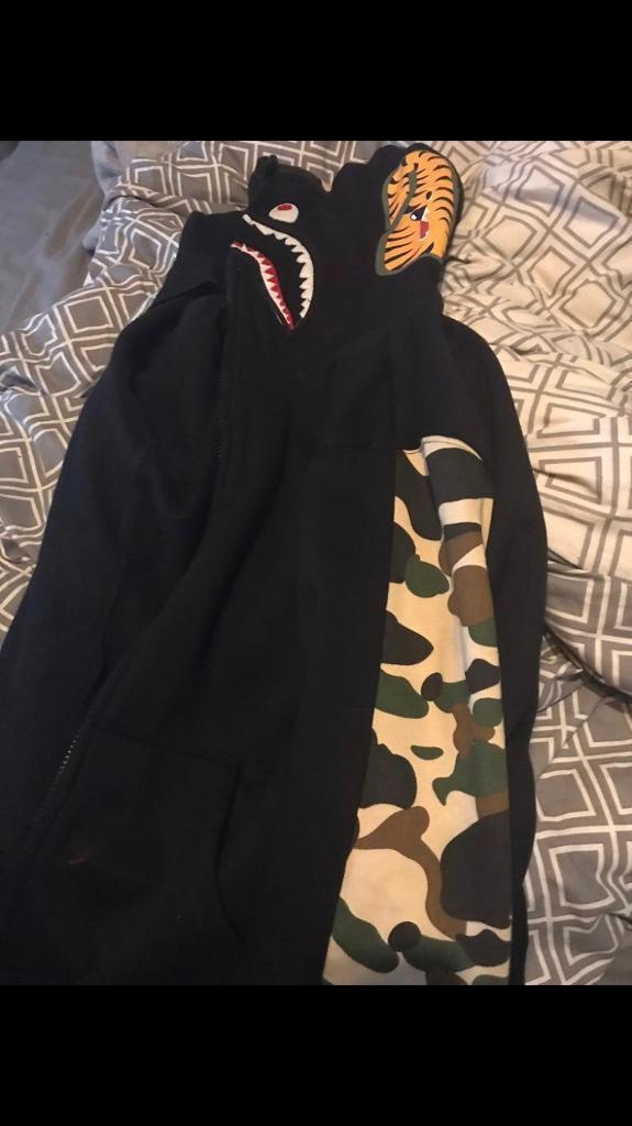 90dfe3559f47 A bathing ape shark head jacket
