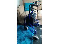 Lightweight Aluminum Tri-Wheel Walker