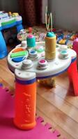 Leap frog and playschool music tables