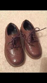 Boys real leather Brogues (only worn once) size 7