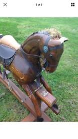 Lovely rocking horse project vintage