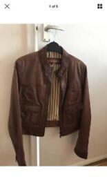 Size 12 Next leather jacket