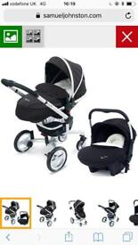 Silver cross surf pushchair and car seat