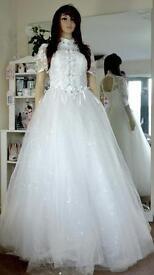 Wedding dresses, size M and L