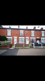 2 bed terraced, hale road Widnes