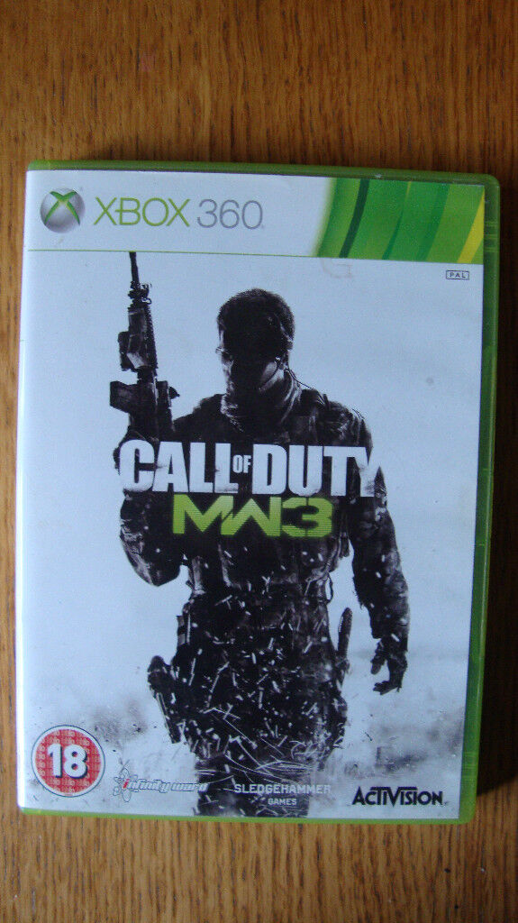 4 Xbox 360 Call of Duty Games Black Ops 2, Ghosts, MW3, Advanced ...