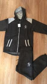 Mens gym king tracksuit