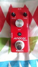 Eno/Andoer Crunch distortion pedal