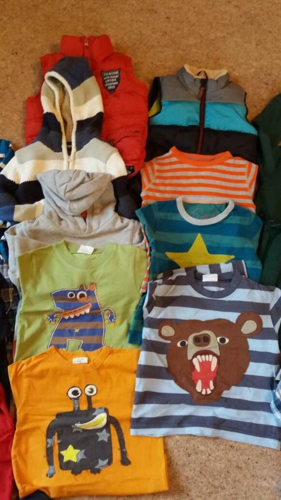 Boys winter bundle age 3-4