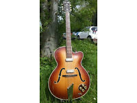Hofner President - vintage archtop guitar, 1955, great player!