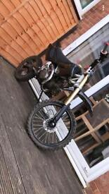 125 pit bike, fast for 125 —- £450—-