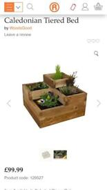 Brand new Caledonian Tiered raised beds