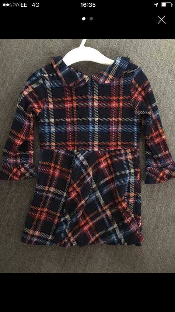 Tartan dress next 12-18 months