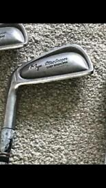 Macgregor left hand Golf Irons