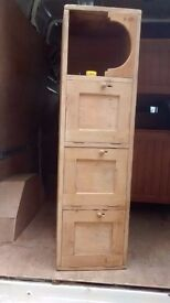 Old pine cupboards