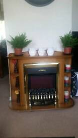 Excellent condition electric fireplace