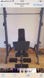 Smith machine, squat rack etc
