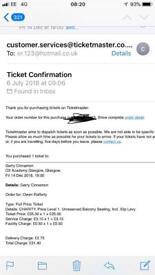 Gerry cinammon ticket