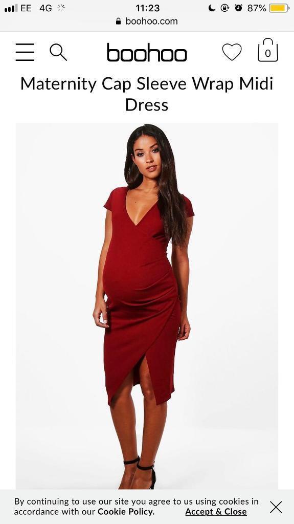 517df272f5481 Boohoo size 8 maternity dress | in Long Eaton, Nottinghamshire ...