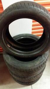 (143) Pneus Hiver - Winter Tires 245-50-18 Pirelli RunFlat 7/32